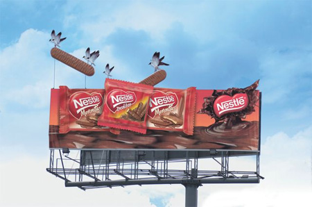 Nestle Billboard