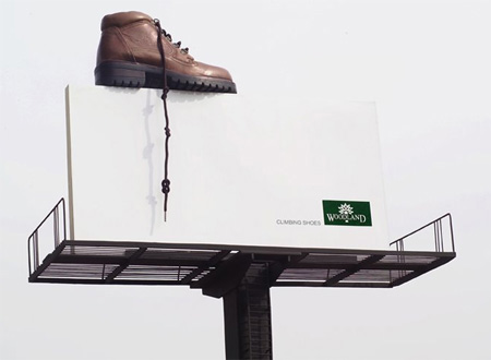 Woodland Shoes Billboard