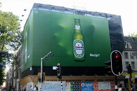 Heineken Billboard