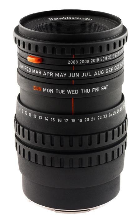 The World\'s First Camera Lens Calendar 4