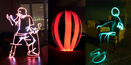 20 Beautiful Examples of Light Graffiti