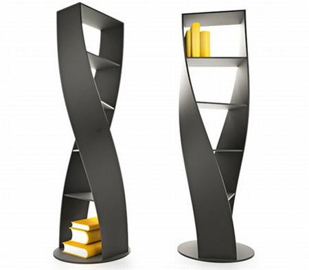 MYDNA Twist Bookcase