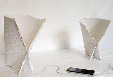 Ceramic Paper Speakers