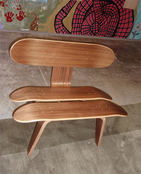 Skateboard Stax Chair