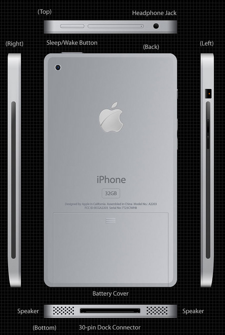 Titanium iPhone Concept 2