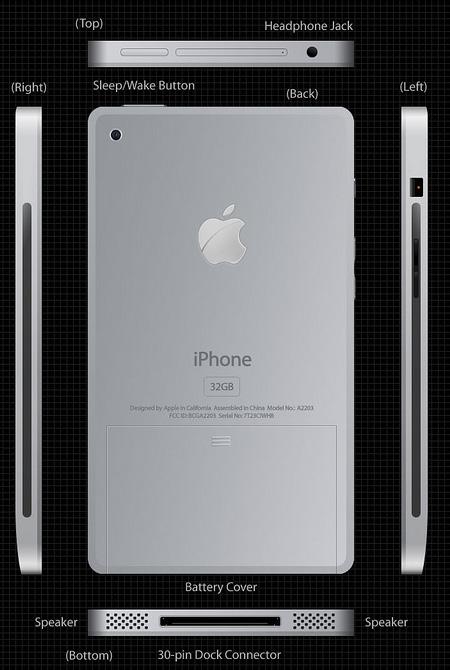 Titanium iPhone Concept 2