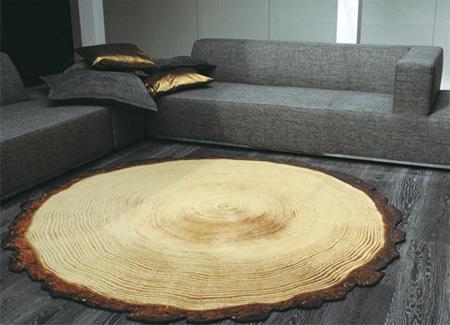 Woody Wood Rug