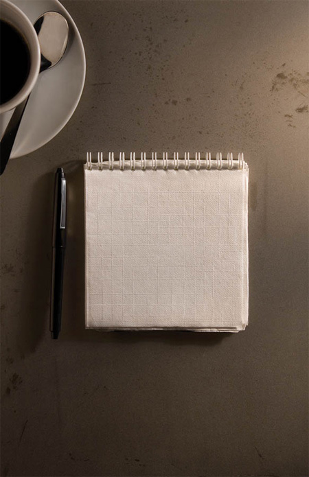 Napkins Notebook