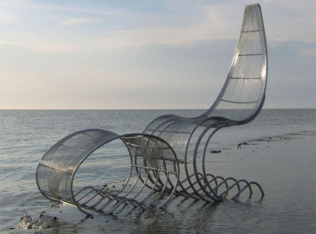 Hero Garden Chair by Adrian Rayment