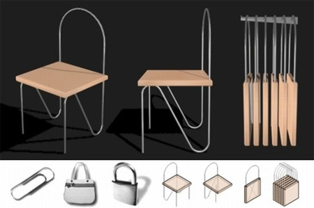 Paper Clip Chair