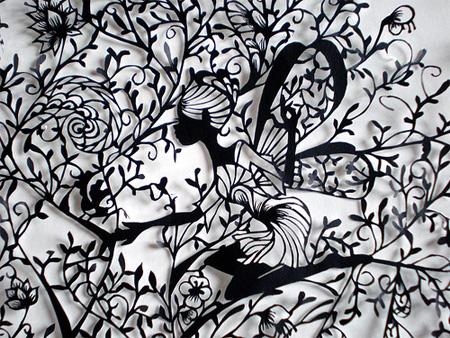 Paper Cutting Art by Aoyama Hina 5