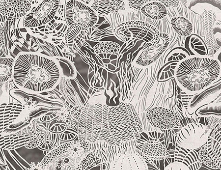 Paper Cutout Drawings by Bovey Lee 2