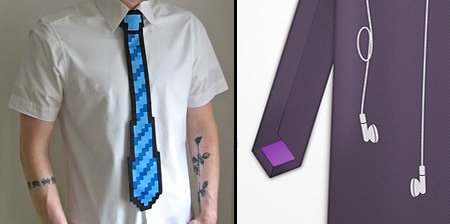 Unusual Ties and Creative Necktie Designs