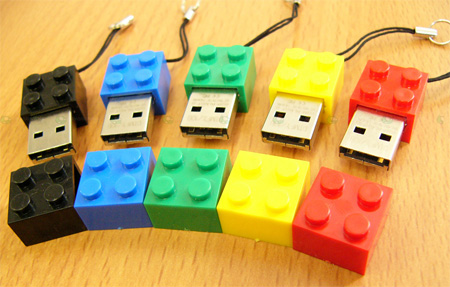 LEGO USB Flash Drives