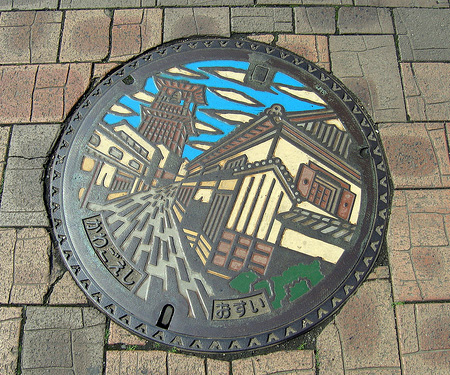 Painted Manhole Covers from Japan 13