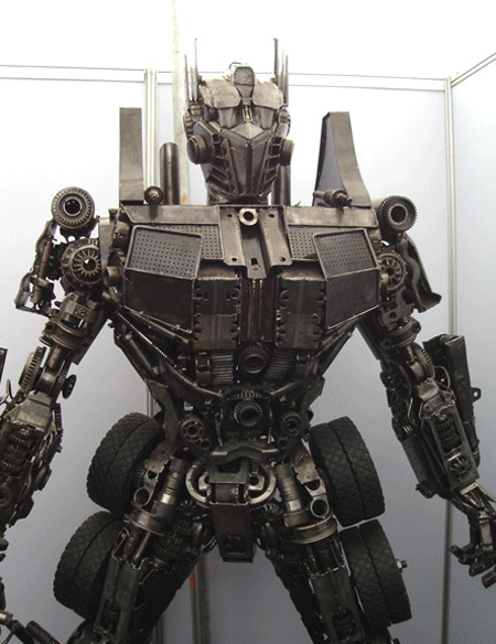 Optimus Prime Sculpture