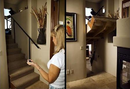Staircase Hidden Door
