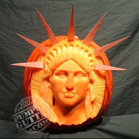 3D Pumpkin Carvings