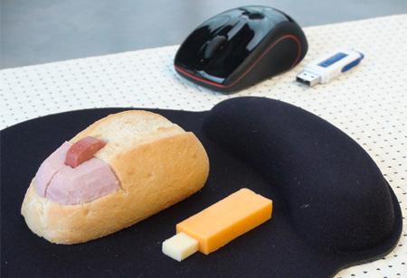 Computer Mouse Sandwich
