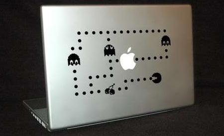 Pac-Man MacBook Sticker