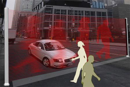 Laser Crosswalk Concept