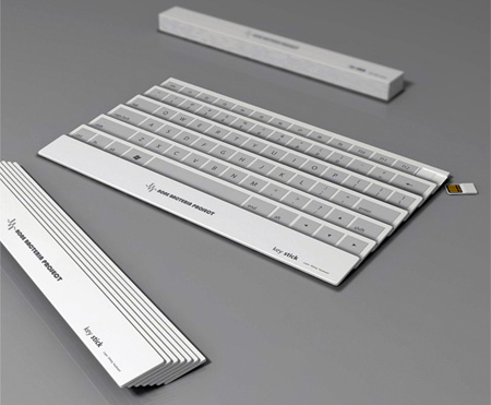Innovative Folding Keyboard
