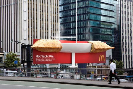 McDonalds Giant Pie