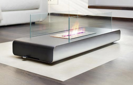 Coffee Table Fireplace