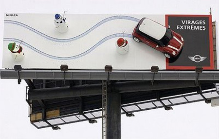 MINI Cooper Billboard
