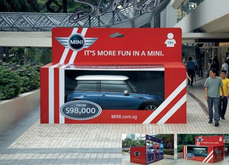 MINI Cooper in a Box