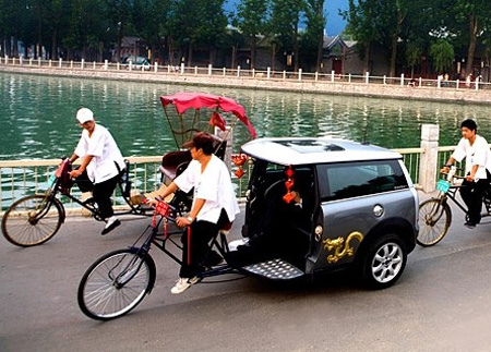 MINI Cooper Rickshaws