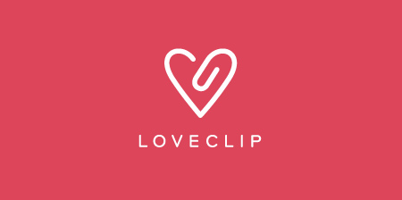 Logo Love Clip