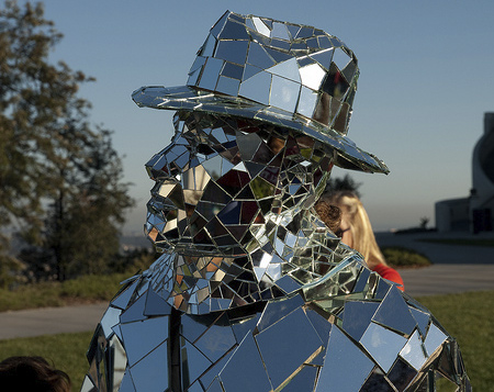 Mirror Man in Los Angeles