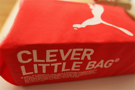 PUMA Clever Little Bag packaging box