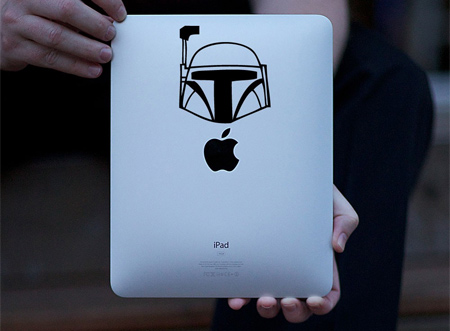 Boba Fett iPad Sticker