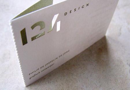 124 Design Business Card