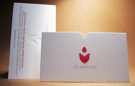 All Wellness Business Card