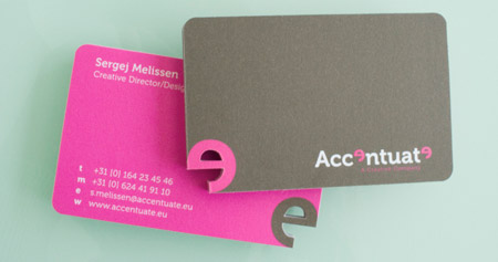 Accentuate Business Card