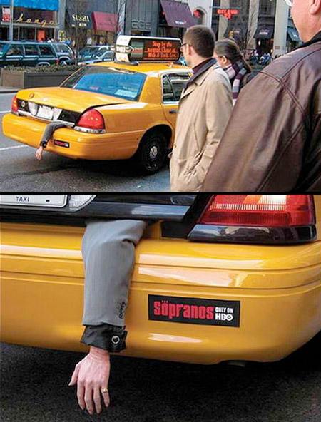 Sopranos Taxi Ad