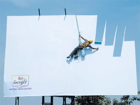 Berger Paint Billboard