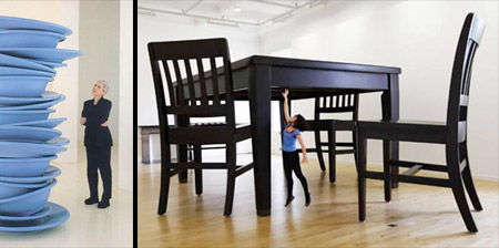 Oversized Furniture for Giants
