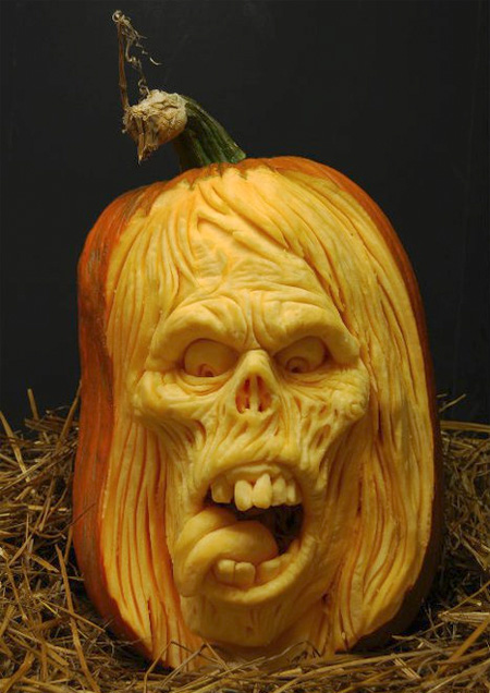 3D Pumpkin Sculpture