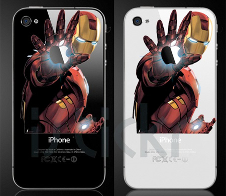 Iron Man iPhone Sticker