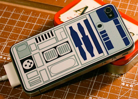 R2-D2 iPhone Sticker