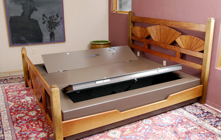Concealed Safe Bed