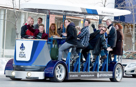 Human Powered Bus
