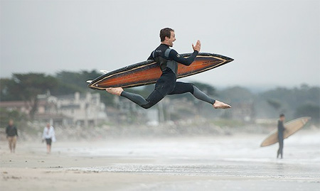 Surfing Dancer