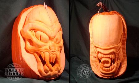 Alien Pumpkins