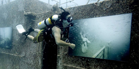 Underwater Art Gallery