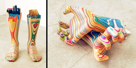 Skateboard Sculptures